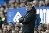 """""""Manchester United"""" treneris: """"Pakartoti 1999-ųjų treblą neįmanoma"""""""
