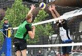 4 žvaigždučių paplūdimio tinklinio turnyre vokiečiai eliminavo abi lietuvių poras