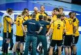 Lietuvos rankinio rinktinė liko per tris įvarčius nuo pasaulio čempionato