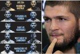 """""""UFC 254"""" programą pamatęs Ch.Nurmagomedovas: """"Pilna žudikų"""""""