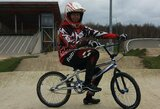Finaliniame Baltijos jūros šalių BMX dviračių taurės etape – G.Pabijansko sidabras ir V.Baškytės auksas