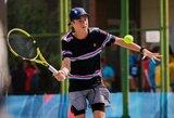 Pajėgiausių Europos šešiolikmečių tenisininkų turnyre – net trys lietuviškos pavardės