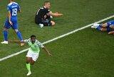 Pergalę iškovojusi Nigerija padarė paslaugą Argentinai