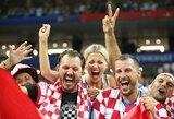 Pamatykite: sirgalių džiaugsmas po Kroatijos rinktinės pergalės