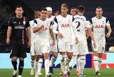"""Europos lyga: """"Tottenham"""" iškovojo triuškinamą pergalę"""
