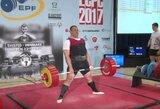 Joniškyje paaiškėjo Lietuvos klasikinės jėgos trikovės čempionai