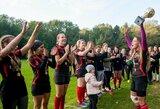 Tarptautiniame moterų regbio-7 turnyre – VRA triumfas