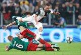 """D.Barinovas: """"Trenkiau alkūne C.Ronaldo ir buvau """"pasiųstas"""""""