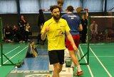 K.Navickas badmintono turnyrą Suomijoje pradėjo dvejomis pergalėmis