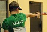 Lietuviai baigė savo pasirodymus pasaulio jaunimo šaudymo sporto čempionate