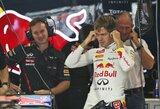 S.Vettelis nesureikšmina bandymuose pademonstruoto greičio
