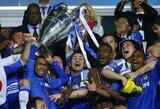 """Dramatiškame Čempionų lygos finale – """"Chelsea"""" komandos triumfas"""