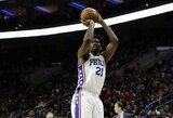 NBA nubaudė L.Ballo tėtį įžeidusį J.Embiidą