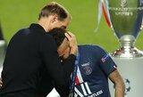 """T.Tuchelio darbas PSG baigtas? """"Sky Sport"""" skelbia pagrindinį kandidatą pakeisti trenerį"""