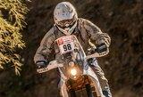"""B.Bardausko motociklas """"KTM 450 Rally Replica"""" nepavedė – lietuvis arti šalies rekordo"""