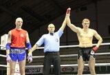 S.Maslobojevas pirmą kartą tapo Lietuvos Muay Thai čempionu