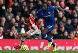 """Už ką J.Mourinho yra dėkingas šiukšlių maišu išvadintas """"Chelsea"""" gynėjas K.Zouma?"""