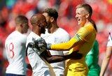 Tautų lyga: Anglija tik po baudinių serijos įveikė Šveicariją ir iškovojo trečią vietą