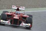 Vokietijos GP kvalifikacijoje triumfavo F.Alonso