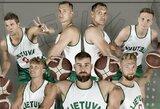Specialiomis aprangomis Lietuvos rinktinės krepšininkai pagerbs 1939 m. Europos čempionus