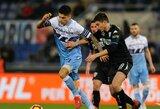 """""""Lazio"""" įveikė """"Serie A"""" lygos autsaiderius"""