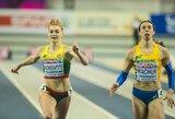 Startai Glazge: Lietuvos sprinterei sutrukdė jaudulys, britų žvaigždė išgyveno dėl Dzindzaletaitės