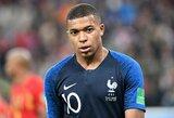 K.Mbappe atsiprašė dėl savo elgesio rungtynėse su belgais
