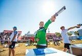 Taikliausiai šaudęs Lietuvos penkiakovininkas jaunimo olimpinėse žaidynėse užėmė 13-ą vietą, disko metiką ištiko nesėkmė
