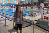 K.Teterevkova pateko į dar vieną Europos jaunimo plaukimo čempionato finalą