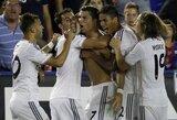 """Paskutinėmis minutėmis pergalingus įvarčius mušęs """"Real"""" išvengė netikėtumo Ispanijoje (+ kiti rezultatai)"""