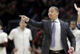 """Nutrūko """"Lakers"""" ir T.Lue derybos, komanda turi tris naujus kandidatus"""