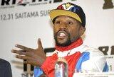 """F.Mayweatheris: """"Chabibas gali uždirbti beprotiškus pinigus bokse arba likti MMA ir kovoti už menkas sumas"""""""