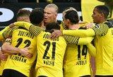 """Vokietijoje – E.Haalando pelnytas dublis ir """"Borussia"""" komandos pergalė"""