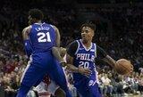 """Pirmąjį tritaškį NBA pataikęs M.Fultzas: """"Tai geras jausmas"""""""