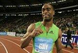 """Sprinteris T.Gay'us: """"Svajoju patekti į Londono olimpines žaidynes"""""""