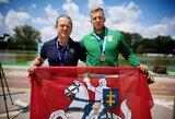 Lietuviai baigė pasaulio jaunių ir jaunimo baidarių ir kanojų irklavimo čempionatą