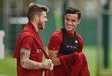 """Ar karo kirvis užkastas? P.Coutinho prisijungė prie """"Liverpool"""" treniruočių"""