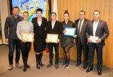 Pagerbti Europos žaidynių ir EJOF prizininkai