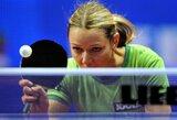 """R.Paškauskienė pergalingai pradėjo """"World Tour"""" serijos stalo teniso turnyrą Čekijoje"""