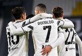 """C.Ronaldo dublis paženklintas triuškinama """"Juventus"""" pergale"""