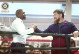 """R.Kadyrovas: """"Galime surengti Chabibo ir Floydo kovą Grozne"""""""