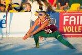 Tinklinio trilerį pralaimėjusios lietuvės pasitraukė iš Europos jaunimo čempionato