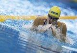 R.Meilutytė triumfavo plaukimo varžybose Monake