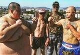 Pamatykite: garsus Rusijos blogeris kovoje ant stogo nugalėjo 240kg sveriantį varžovą