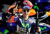 """Paskutines """"MotoGP"""" sezono lenktynes pirmas pradės J.Lorenzo"""