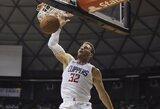 """Staigmena """"Clippers"""": B.Griffinas į aikštę sugrįš mėnesiu greičiau"""