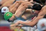 Plaukikas A.Šidlauskas užtikrintai pateko į Europos žaidynių pusfinalį