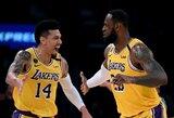 """NBA žaidėjas: """"Girdėjau, kad """"Lakers"""" krepšininkai paslapčia treniravosi"""""""