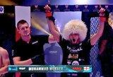 M.Mokajevas MMA narve iškovojo 26-ą pergalę iš eilės
