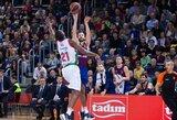 """""""Barcelona"""" užtikrintai susitvarkė su """"Baskonia"""" krepšininkais"""